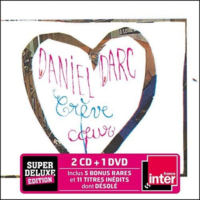 Daniel Darc CREVECOEUR: DELUXE EDITION CD