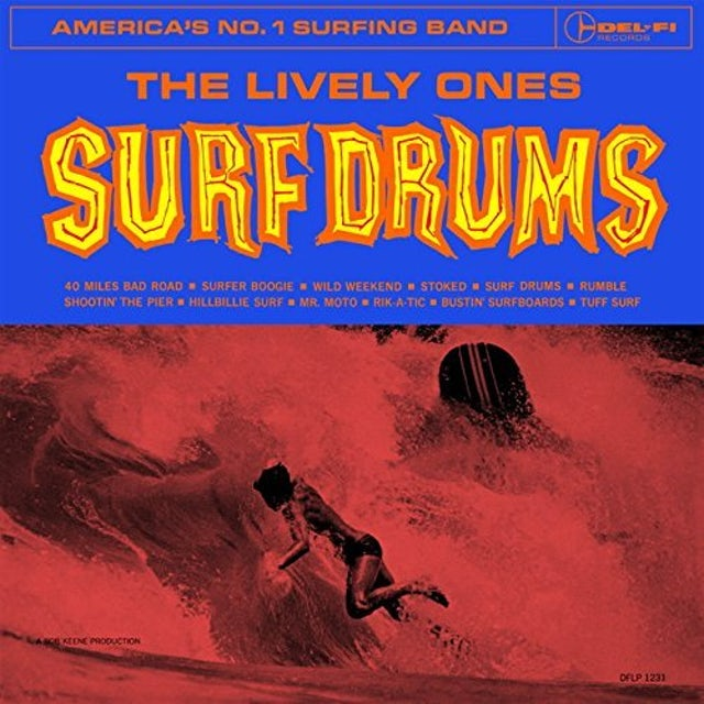 LIVELY ONES SURF DRUMS CD