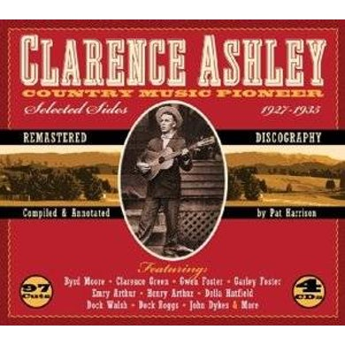 Clarence Ashley COUNTRY MUSIC PIONEER 1927-1935 CD