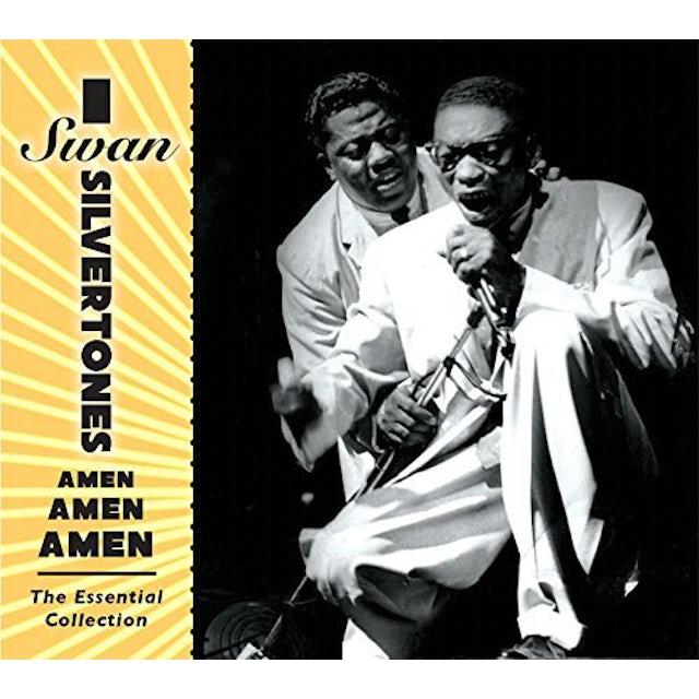 Swan Silvertones AMEN AMEN AMEN: ESSENTIAL COLLECTION CD