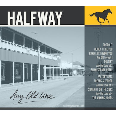 Halfway ANY OLD LOVE CD