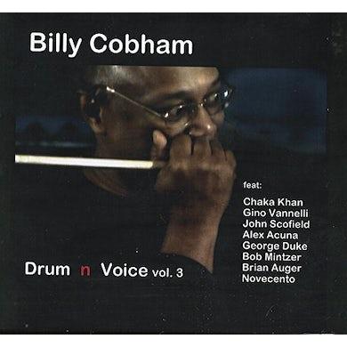 Billy Cobham & Novecento DRUM & VOICE VOL.3 CD
