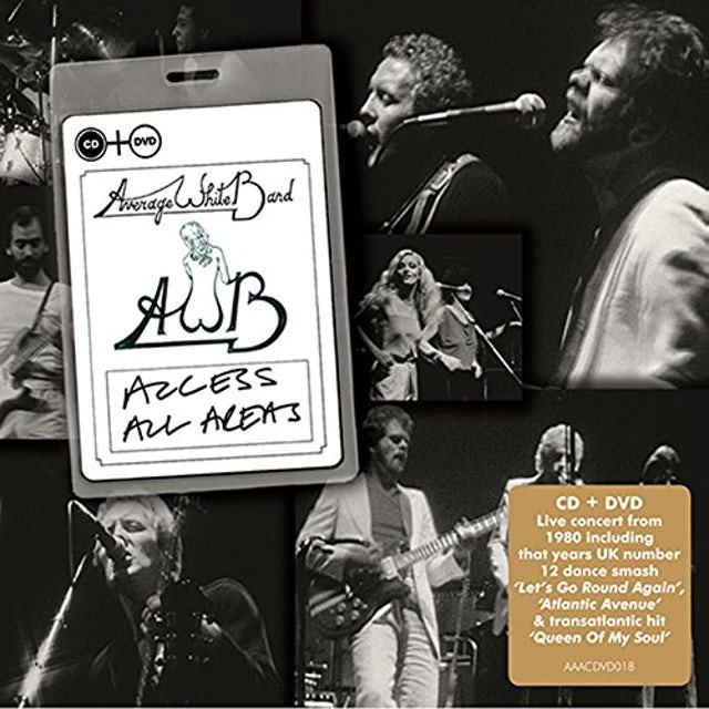 Average White Band ACCESS ALL AREAS CD