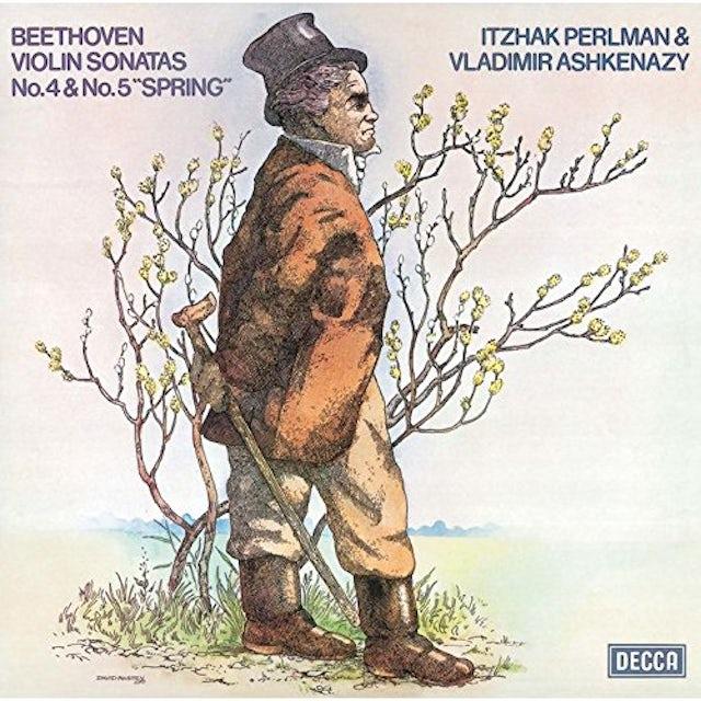 Itzhak Perlman BEETHOVEN: VIOLIN SONATAS NOS 4 & 5 CD