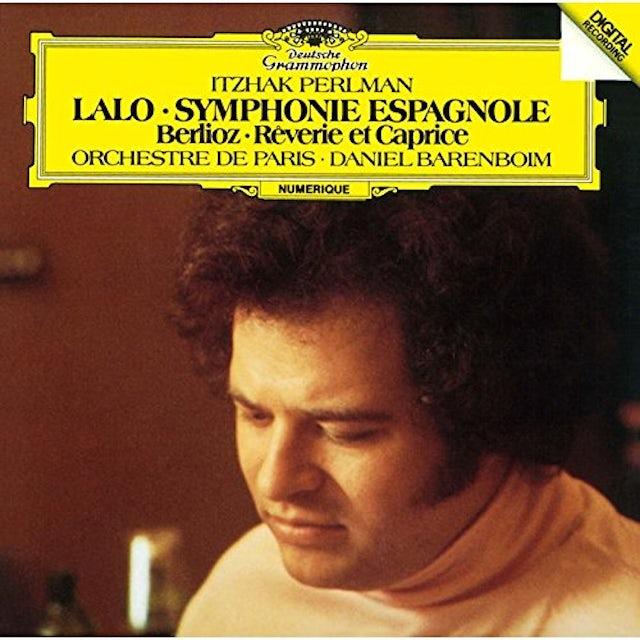 Itzhak Perlman LALO: SYMPHONIE ESPAGNOLE ETC CD