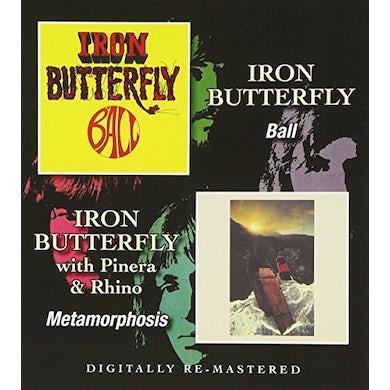 Iron Butterfly BALL / METAMORPHOSIS CD