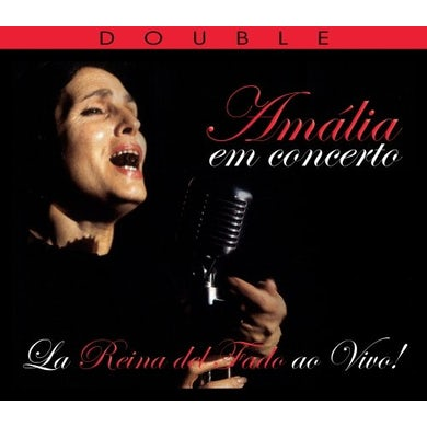 Amalia Rodrigues EM CONCERTO: LIVE FROM PARIS & NEW YORK TOWN HALL CD