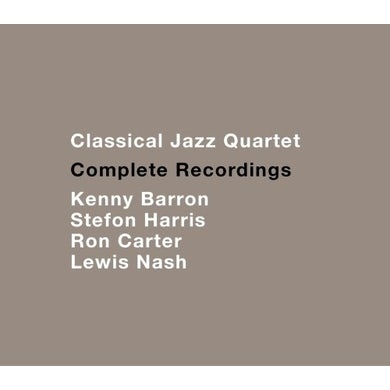 Classical Jazz Quartet COMPLETE RECORDINGS CD