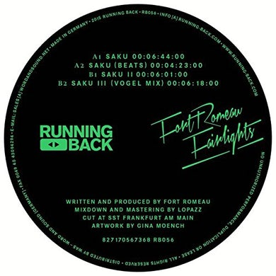 Fort Romeau FAIRLIGHTS Vinyl Record