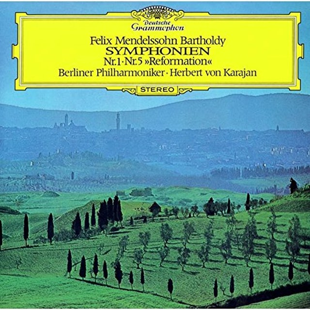 Herbert Von Karajan MENDELSSOHN: 5 SYMPHONIES CD