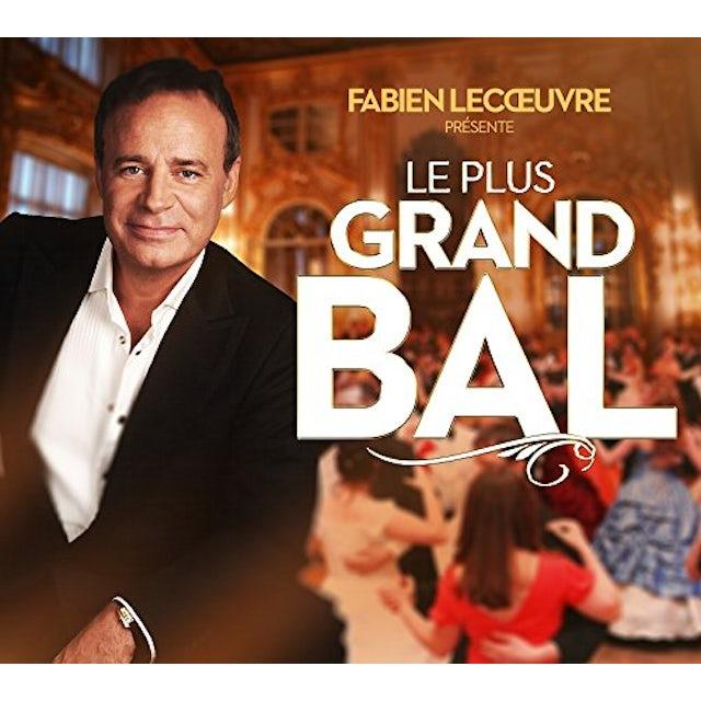 Fabien Lecoeuvre PRESENTE LE PLUS GRAND BAL DE FRANC CD