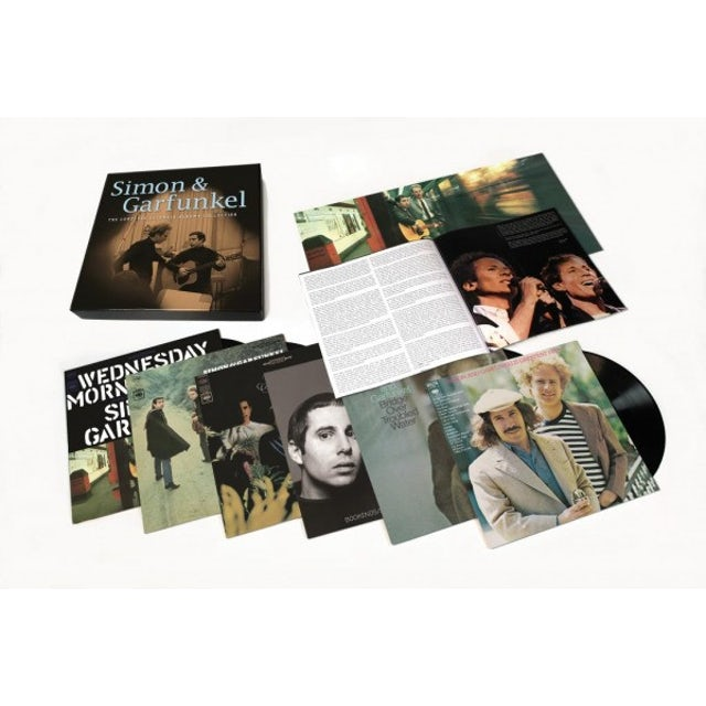 Simon & Garfunkel COMPLETE COLUMBIA ALBUM COLLECTION Vinyl Record Box Set