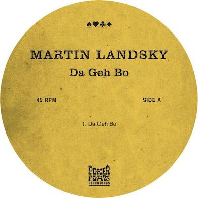 Martin Landsky DA GEH BO Vinyl Record