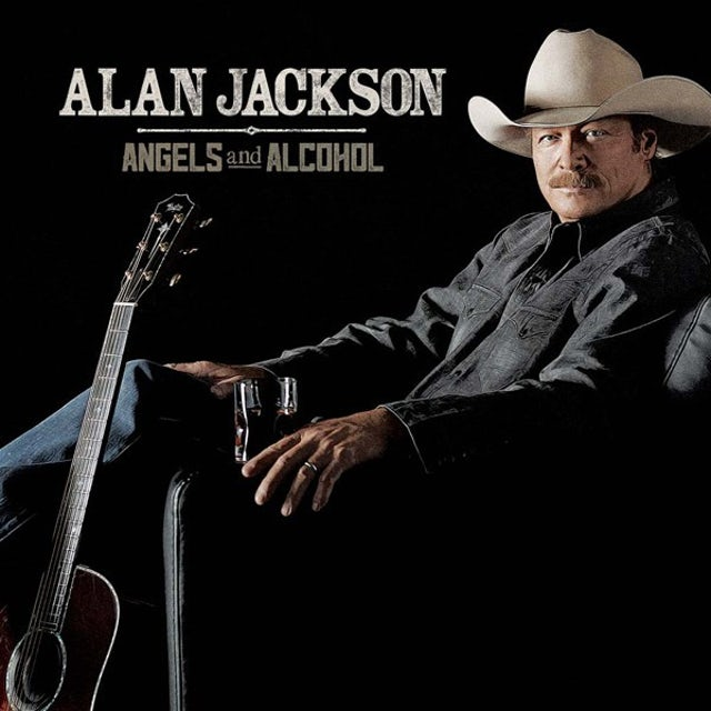 Alan Jackson ANGELS & ALCOHOL CD