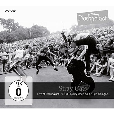 Stray Cats LIVE AT ROCKPALAST CD