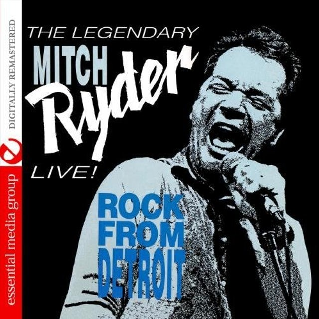 Mitch Ryder LIVE! ROCK FROM DETROIT CD