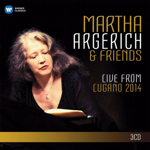 Martha Argerich LIVE FROM THE LUGANO FESTIVAL 2014 CD