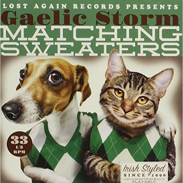 Gaelic Storm MATCHING SWEATERS CD