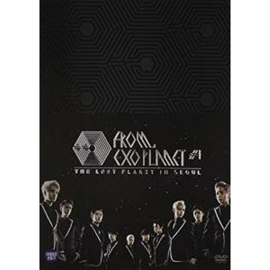 EXO FROM. EXOPLANET NO.1-THE LOST PLANET DVD