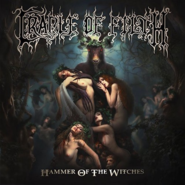 Cradle Of Filth HAMMER OF THE WITCHES (PICTURE DISC) Vinyl Record - UK Release