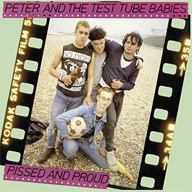 Peter and the Test Tube Babies PISSED & PROUD / RARITIES 12 Vinyl Record - UK Release