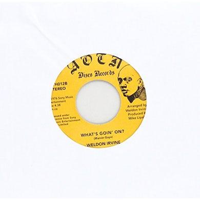 Weldon Irvine I LOVE YOU Vinyl Record