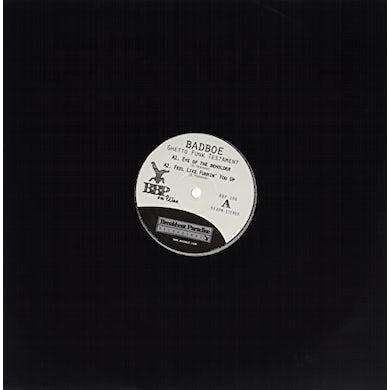 Badboe GHETTO FUNK TESTAMENT Vinyl Record