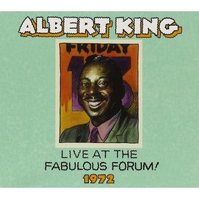 Albert King LIVE FABULOUS FORUM 1972 CD