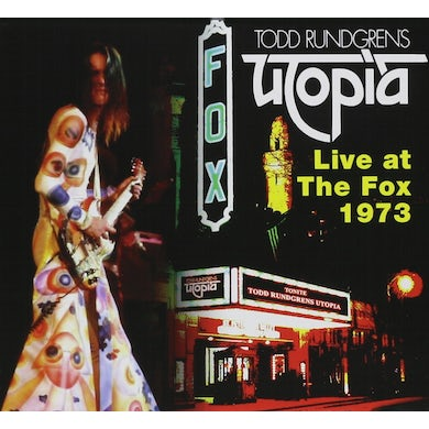 Todd Rundgren UTOPIA: LIVE AT THE FOX ATLANTA CD
