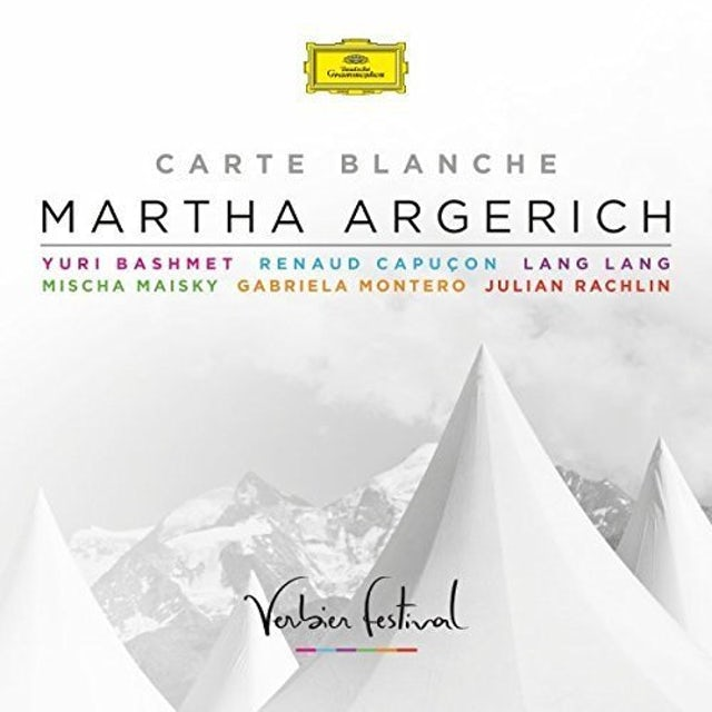 Martha Argerich CARTE BLANCHE CD