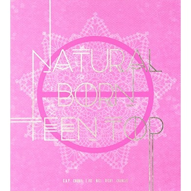NATURAL BORN TEEN TOP (PASSION VER.) CD
