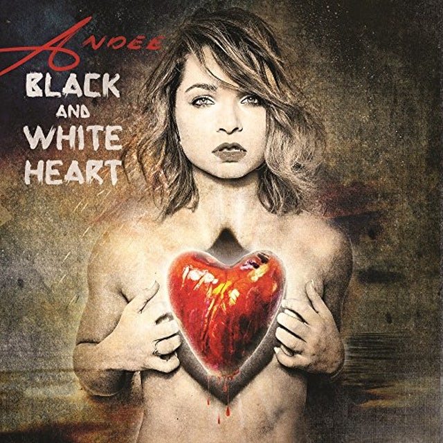 Andee BLACK & WHITE HEART CD
