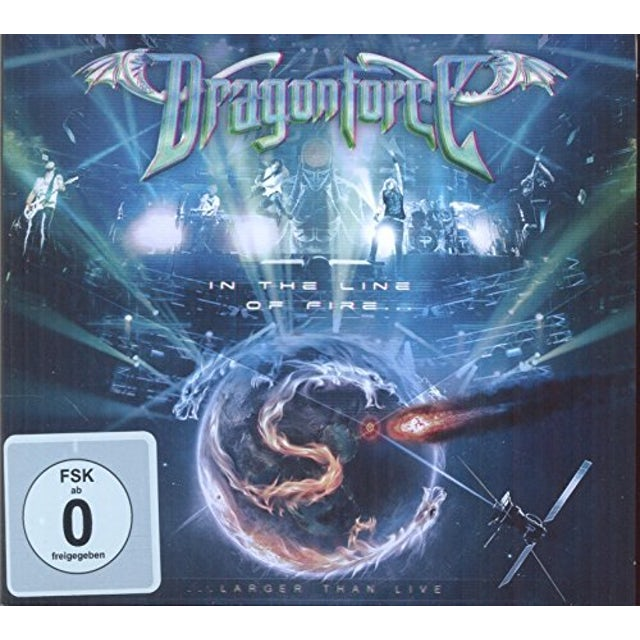 Dragonforce IN THE LINE OF FIRE CD