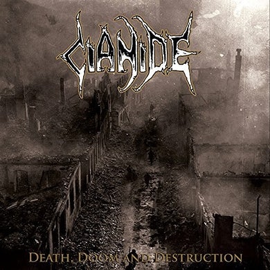 DEATH DOOM DESTRUCTION (COLORED VINYL) Vinyl Record