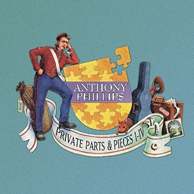 Anthony Phillips PRIVATE PARTS & PIECES I-IV: 5CD DELUXE CLAMSHELL CD