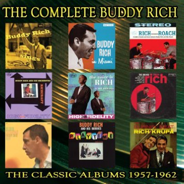 COMPLETE BUDDY RICH: 1957-1962 CD