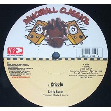 Cutty Ranks GRIZZLE Vinyl Record