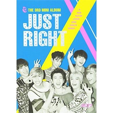 GOT7 JUST RIGHT (MINI ALBUM) CD
