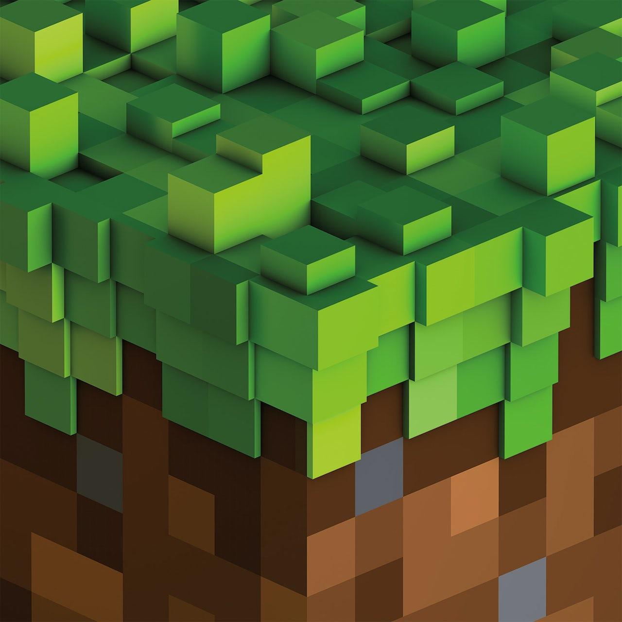 C418 Colv Grn Minecraft Volume Alpha Transparent Green Vinyl Vinyl Record