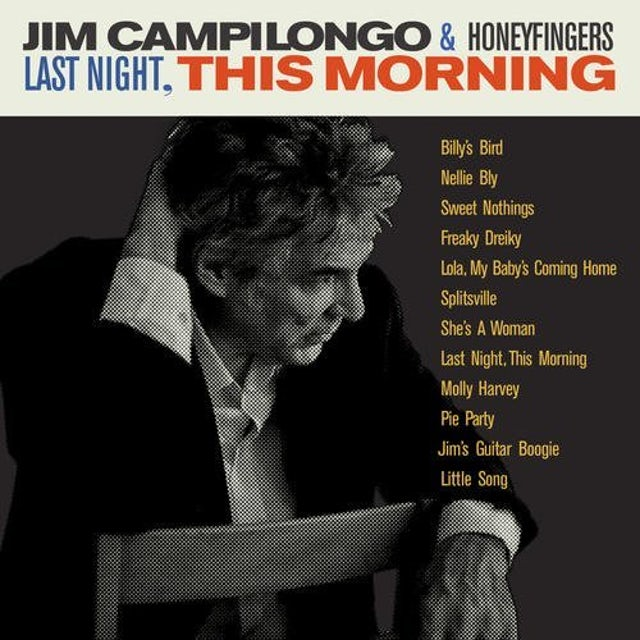 Jim Campilongo & Honeyfingers LAST NIGHT THIS MORNING CD