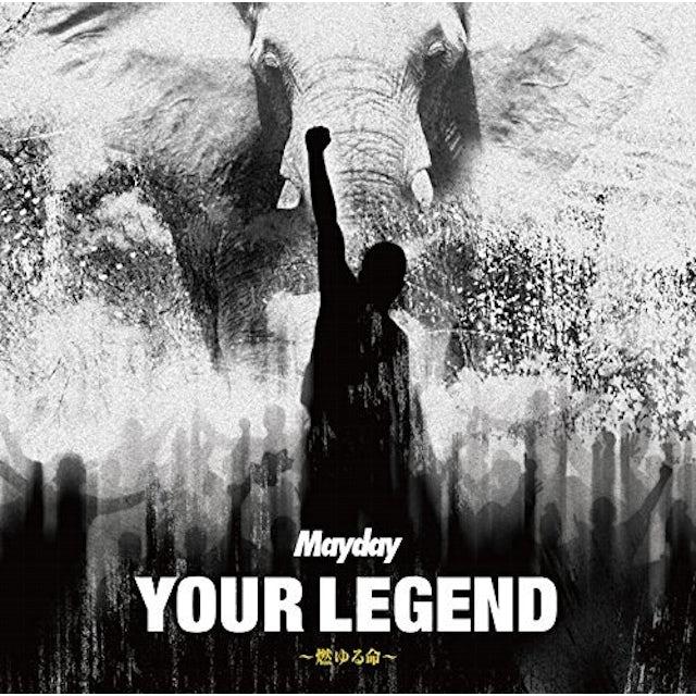 Mayday YOUR LEGEND: MOYURU INOCHI- CD