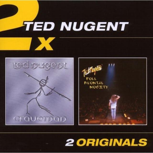 Ted Nugent CRAVEMAN/FULL BLUNTAL NUGITY CD