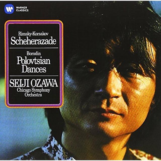 Seiji Ozawa RIMSKY-KORSAKOV: SCHEHERAZADE/BORO CD