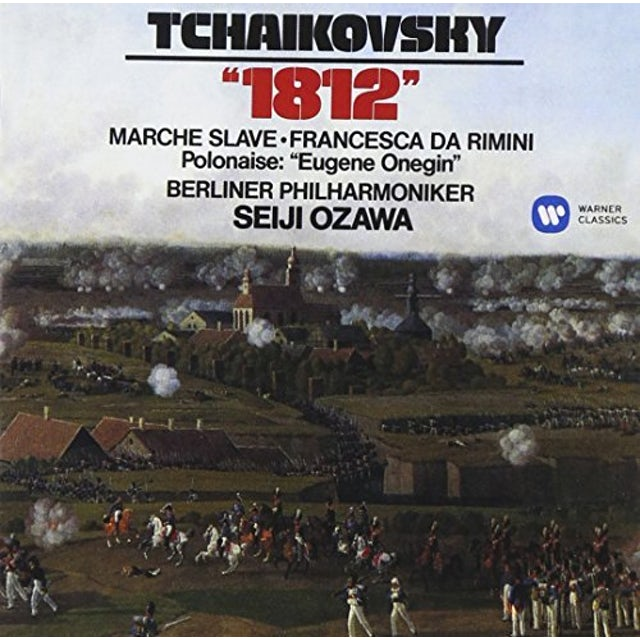 Seiji Ozawa TCHAIKOVSKY: 1812 MARCHE SLAVE CD