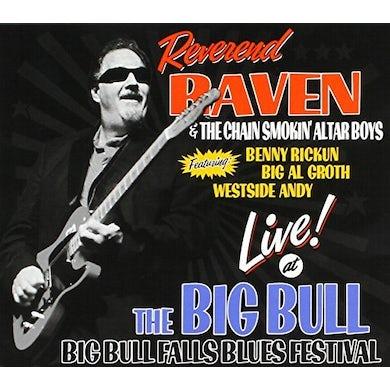 Reverend Raven LIVE AT THE BIG BULL CD