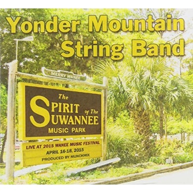 Yonder Mountain String Band LIVE AT WANEE 2015 CD