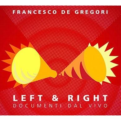 Francesco De Gregori LEFT & RIGHT CD