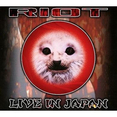 Riot LIVE IN JAPAN CD