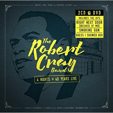 Robert Cray 4 NIGHTS OF 40 YEARS LIVE CD
