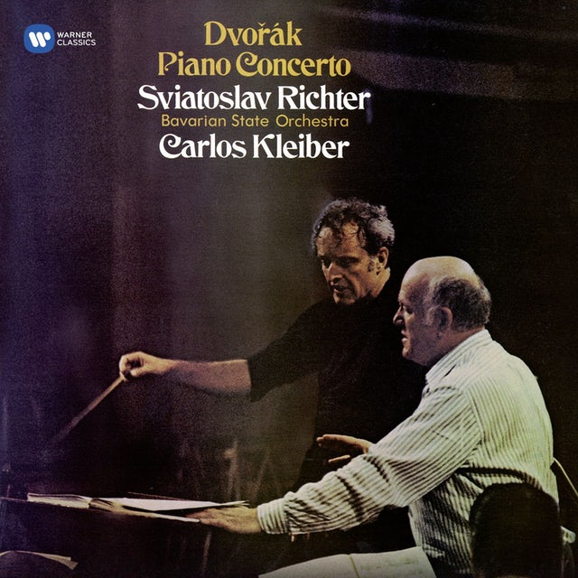 Sviatoslav Richter DVORAK: PIANO CONCERTO / SCHUBERT: WANDERER CD